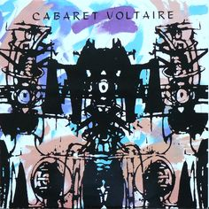 Sensoria cover art - used to have this on a T shirt *sigh* -  Cabaret Voltaire.