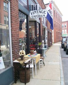 NEW HAMPSHIRE - vintage emporium has amazing Chalk Paint in many colors by Annie Sloan.