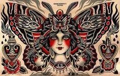 Resultado de imagem para tattoo punhal cigano