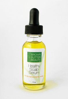 Scalp Treatment Hair Oil Scalp Oil for Dry by BrownButterBeauty, $12.00 #naturalbeauty #brooklynbeauty #naturalhair