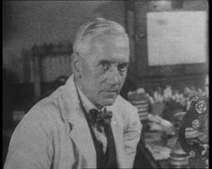 """""""A Miracle from a Mould."""" This collection features obituaries for Sir Alexander Fleming, footage of him at work, and retrospectives on his discovery: http://www.britishpathe.com/workspaces/jhoyle/E3eKxiIl"""