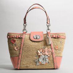 Coach crochet tote bag -inspiration