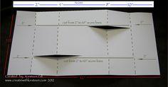 tri shutter card template