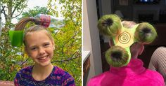 "15+ Kids With Best Hairdos From ""Crazy Hair Day"" At Schools - 9GAG"
