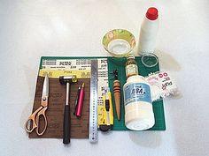 Обработка срезов (урезов) кожи химического дубления | Ярмарка Мастеров - ручная работа, handmade