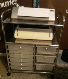 Recollections Storage Cart from Michaels..scored one of these today for $29.99 on clearance for my Silhouette Cameo