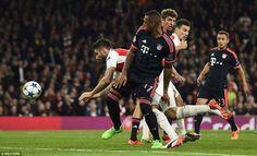 """Bayern – Arsenal chuẩn bị trước trận đấu (nguồnVTV): Trận đấu sẽ được Tường thuật trực tiếp, mời quý vị cùng đón xem! Arsenal đã bị loại ở vòng 1/8 tới 6 lần liên tiếp trong 6 năm qua và Bayern có 2 lần khiến """"Pháo thủ"""" phải dừng bước (2012/13, 2013/14). Ở mùa giải năm ngoái, hai đội tiếp tục..."""