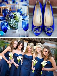 Classic Color Idea: Cobalt blue
