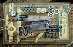 min lille scrappe-verden: Vintage Udfordring #88