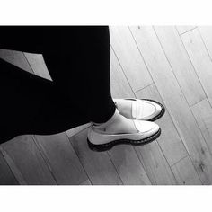 The Leonie Penny Loafers by Dr Martens - pretty meets hard wearing. c/o @_emmapea_