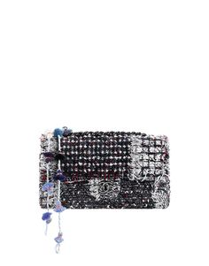 Tweed flap bag with a chain with. Chanel Handbags, Fashion Handbags, Chanel Bags, Chanel Chanel, Tweed, Chanel 2015, Chanel Official Website, Chanel Cruise, Chanel Couture