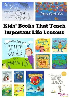 I have noticed in my many years as a childcare worker, and a now a parent, that children are deeply touched by the books they read. This is why I like to read them books that teach important life lessons. During the many years that I have been reading books to children, these have stood out as some of the very best.