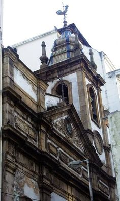 Azulejos antigos no Rio de Janeiro: Centro LI - Igreja de Nossa Senhora Mãe dos Homens