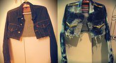 Jaqueta customizada por Mariana C.