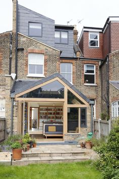 Alex Laidler and Steve Collett transformed their Victorian terrace with a kitchen extension that has a unique, bespoke look Kitchen Extension Cost, Extension Costs, Extension Designs, House Extension Design, Roof Extension, House Design, Extension Ideas, Side Return Extension, Garden Room Extensions