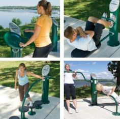 HealthBeat outdoor fitness system - The benefits of exercise are endless: increased strength and co-ordination, better cardiovascular health, a sense of well- being and a healthier community.