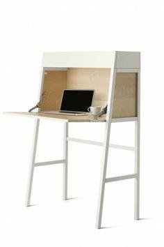 Un mini-bureau épuré