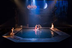 Metamorphoses. Arden Theatre. Scenic design by Brian Sidney Bembridge.