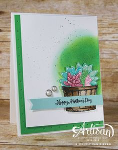Fun sneak peek of the Oh So Succulent stamp set today. The Succulent Garden Suite is made up of fresh florals and endless options of creativity.