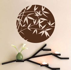 Bamboo Sphere Wall Decal - Trendy Wall Designs