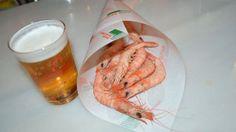 De cañas por Andalucia…cervecita y gambas blancas de la Bahía
