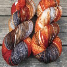 Biker Chick - Yowza - Babette   Miss Babs Hand-Dyed Yarns & Fibers, Inc.