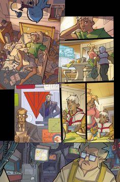 Arcade Boy #1 - page 3   Dark Horse Presents #23