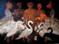 Mankins § Swans-1993 / 200x300 m.  www.philbloom.com