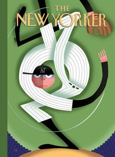 Bob Staake - World Series 2007 New Yorker Cover by artcafe2008,