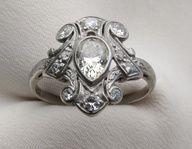 Mid 20th Century Diamond Ring | Isadora's