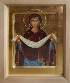 Anton Daineko,Покров Art Icon, Orthodox Icons, Religious Art, Virgin Mary, Fresco, Cathedral, Spirituality, God, Pictures
