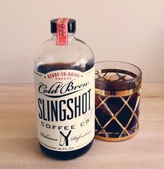 Best coffee ever! #slingshot #coffee : makes a good #smoothie too!