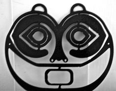 She Who Watches Recycled Steel Wall Hanging by WyEastWeldworks, $12.00
