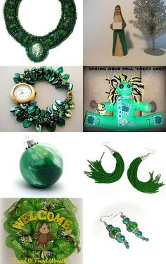 Let's Go Green by Jo Stamatakis on Etsy--Pinned with TreasuryPin.com
