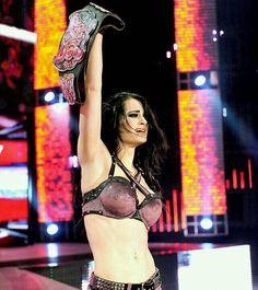 Paige WWE Divas Champion ❤️