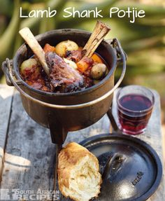 SOUTH AFRICAN RECIPES | Lamb Shank Potjie