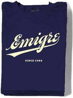Emigre T-shirts