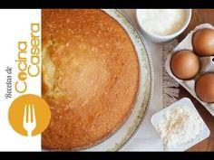 Bizcocho de yogur | Recetas de Cocina Casera - Recetas fáciles y sencillas