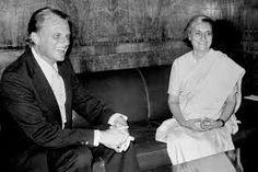 billy graham - Indira Gandhi, PM India