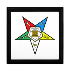 OES Order of the Eastern Star Large Gift Box