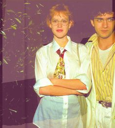 1986, Molly Ringwald & Dweezil Zappa (Source: ringwaldmollys)