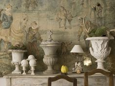 rich mix of artistry with French Antique Tapestry