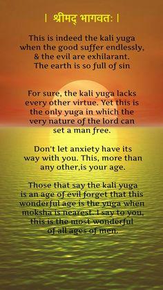 The Greatness of Kali Yuga
