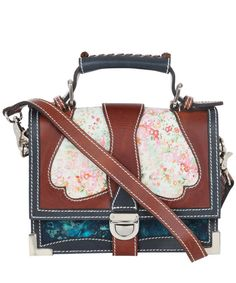 Angie Floral Liberty Print Satchel (via Liberty of London)