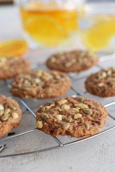 Vegan Cookies Βρωμης Χωρις Γλουτενη | Cool Artisan Vegetarian Smoothies, Healthy Cookies, Vegan Desserts, Free Food, Sugar Free, Food And Drink, Artisan, Gluten Free, Sweets