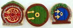 The Hobbit Door Cookies: My precious