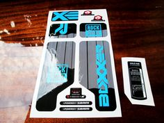 Rock shox BoXXer Fork Replacement/Colored sticker on от Velomoto