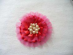 DIY Tulle and Ribbon Hair Snap , jewelry DIY  http://tech.beads.us/details-DIY-Tulle-and-Ribbon-Hair-Snap-Clip-2519.html