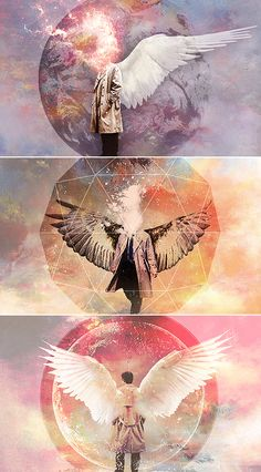 #spn #castielictures of Cas are so pretty and artsy.