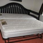 Daybed with decent mattresses - with trundle
